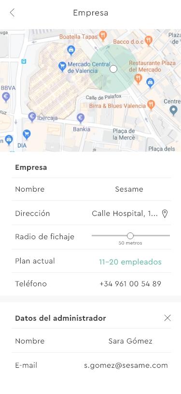 Sesame App Hola Usuario